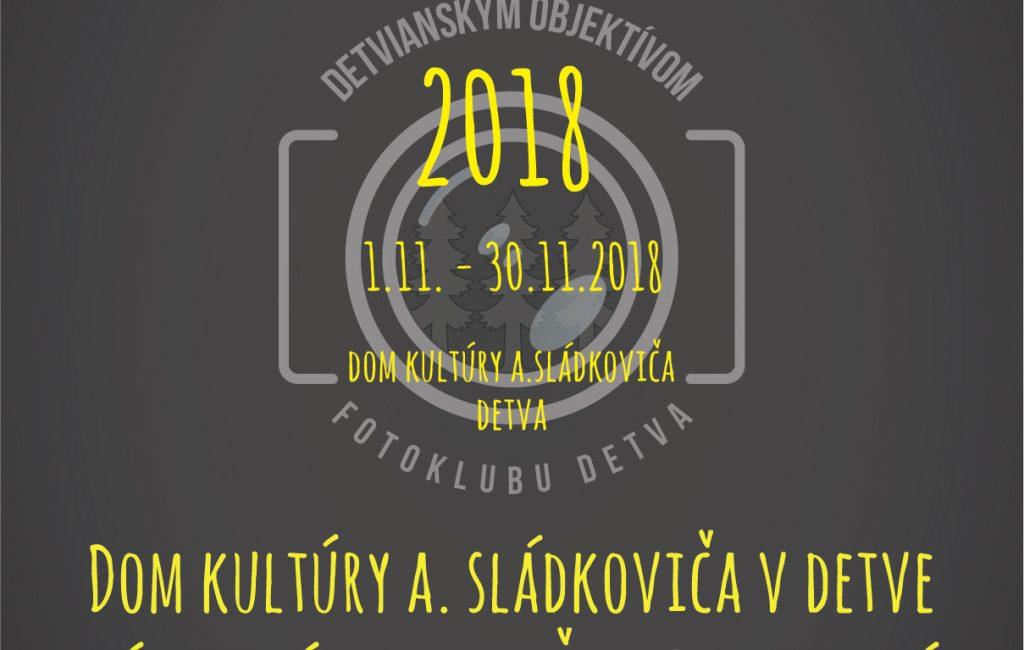 Detvianskym objektívom 2018 – pozvánka