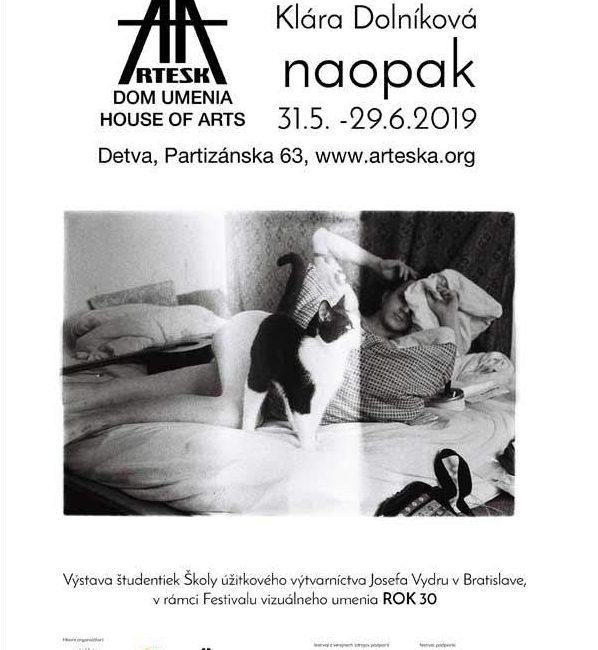 """Festival Rok 30 – Klára Dolníková """"naopak"""""""