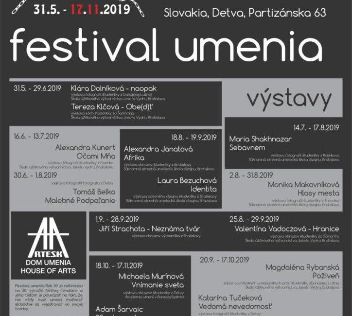 Festival umenia Rok 30 sa začal